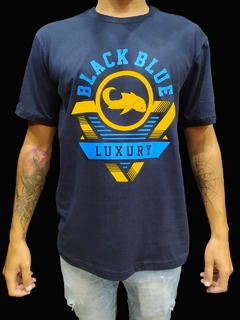 Camiseta Black Blue New  Luxury