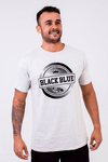Camiseta Black Blue Circle Stripes