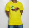 Camiseta Black Blue Big Carp Yellow