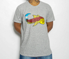 Camiseta Black Blue Big Carp Grey