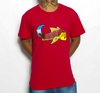 Camiseta Black Blue Big Carp Red