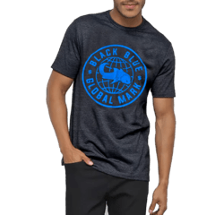 Camiseta Black Blue Global - comprar online