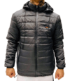 JAQUETA BOMBER SNOW GREY