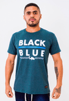 Camiseta Black Blue Line