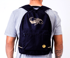 Mochila Black Blue Dark
