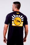 Camiseta Black Blue Sun Name