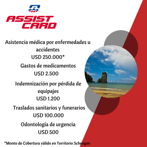ASSIST CARD 5D - EstasPorViajar.Com