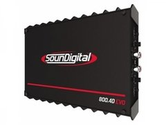 AMPLIF SD-800.4D EVO II 4H 1861 SOUNDIGITAL