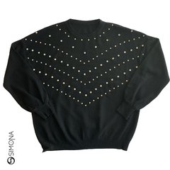 Sweater Paris Negro en internet