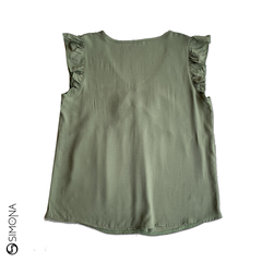 Blusa walnut Verde en internet