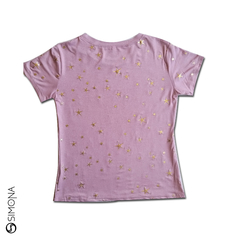 Remera star Rosa en internet
