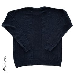 Sweater wallas Negro - comprar online
