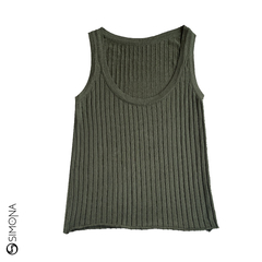 Musculosa Shang Verde