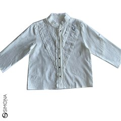 Camisa Romantic Blanco