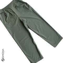 Pantalon Asley Verde Militar en internet