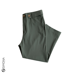 Pantalon Asley Verde Militar