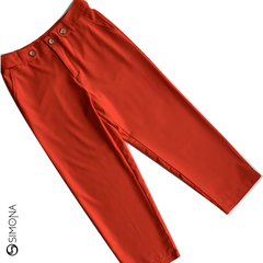 Pantalon Asley Rojo - comprar online