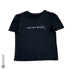 Remera one of a kind Negro