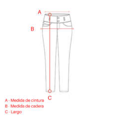 Pantalon Asley Rojo - Simona
