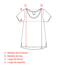 Remera escote en V Gris en internet