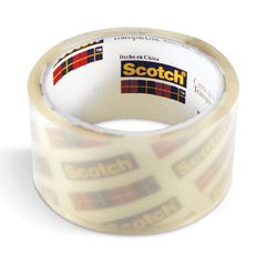 Cinta De Embalar Scotch Transparente Empaque 48MM X40MTS