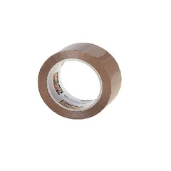 Cinta De Embalar Scotch Marron Empaque 48MM X40MTS