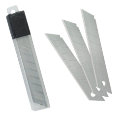 Repuesto Cutter Cortante Blister x 10 Hojas 18MM Grande (Packx5Blister) - comprar online