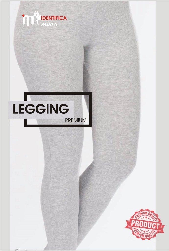 Calça Legging Cintura Alta Cotton Fitness  ccd94bce1ad
