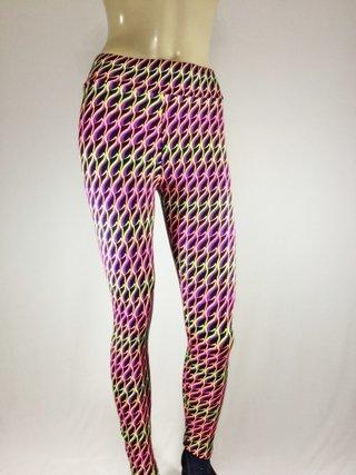 ca43b818d Legging Academia Fitness Colorida (Rosa/Pink) Mega Promoção!!!