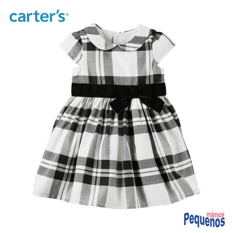 49adafe7e3 Vestido Bebê Menina Festa Carter s