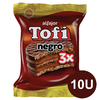 Alfajor Triple Tofi 73g X10u