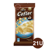 21 Unidades Chocolate Cofler Aireado 27g