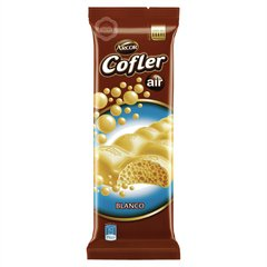 Chocolate Cofler Aireado Blanco X100g