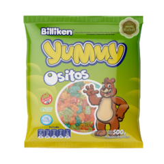 Gomitas Yummy Ositos X500g