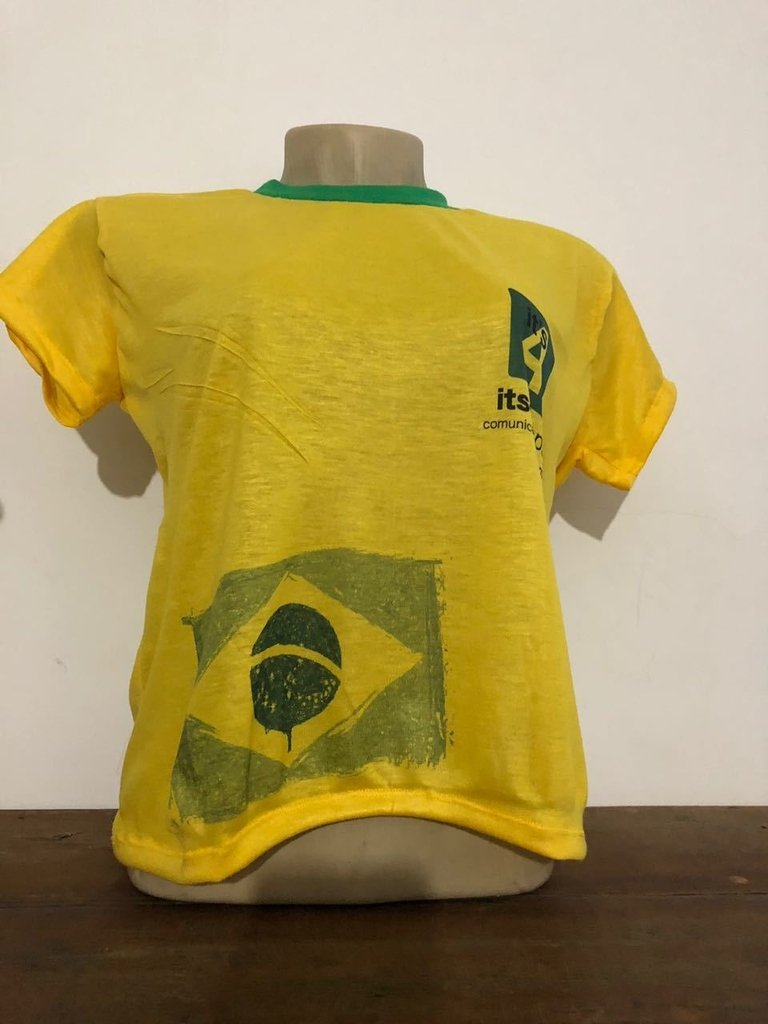 Camiseta colorida personalizada frente e costa. 0% OFF 8fafa076f5c