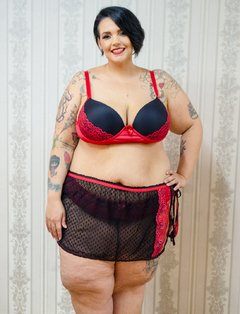 Mini Saia Enamorada Plus Size - Divas Plus