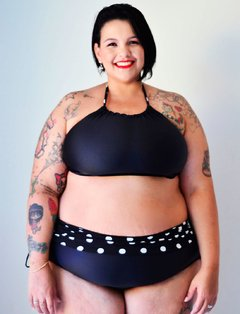 Cropped Bela Poá Plus Size - Divas Plus