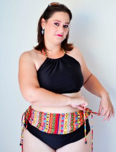 Cropped Bela Indian Plus Size na internet