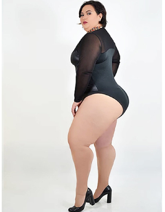 Body Bela Cirre Plus Size na internet