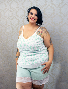 Short Doll Boa Noite Plus Size
