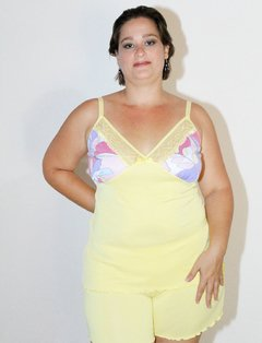 Short Doll Colors Plus Size Sem bojo