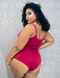 Body Modelador Luara Plus Size - Divas Plus