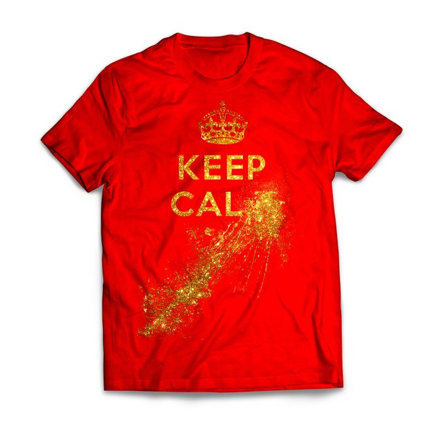 Keep Calm Gold - Diva Depressão