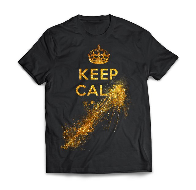 Keep Calm Gold