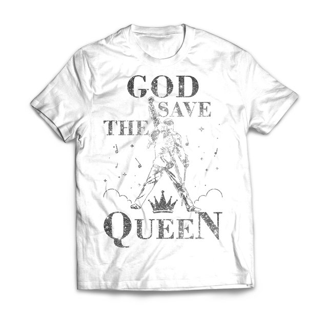 God Save The Queen Silver