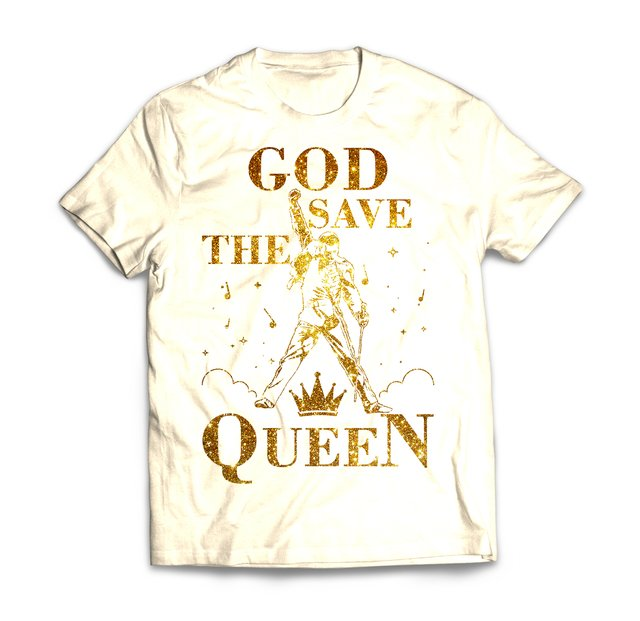 God Save The Queen Gold - comprar online