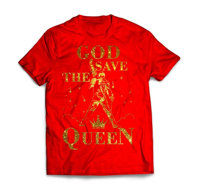 God Save The Queen Gold - Diva Depressão