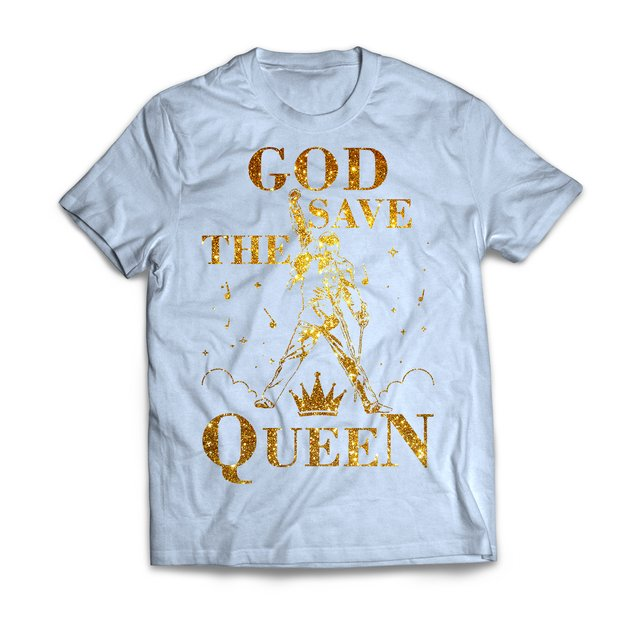 God Save The Queen Gold - loja online