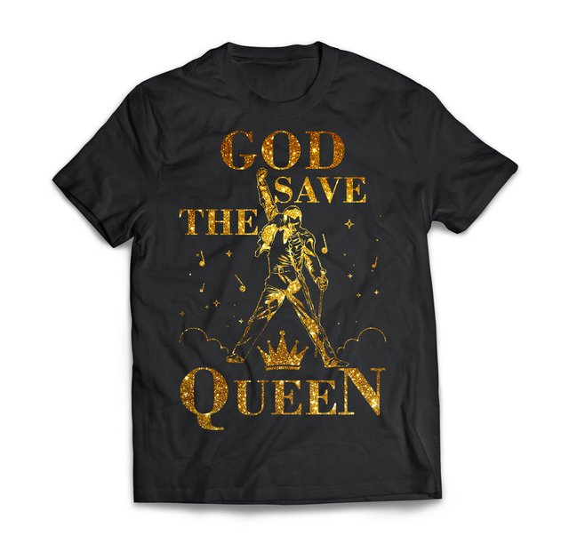 God Save The Queen Gold