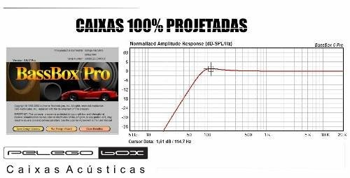 Bazuca Projetada P/ Subwoofer Pioneer Ts-w3090br 52 Litros na internet